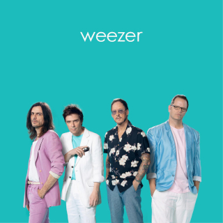 Teal Album Cover via Atlantic Records